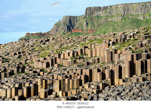 Giant's Causeway, County Antrim, Northern Ireland, Great Britain