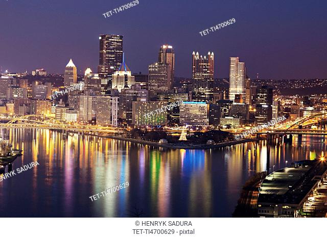 Cityscape of Pittsburgh