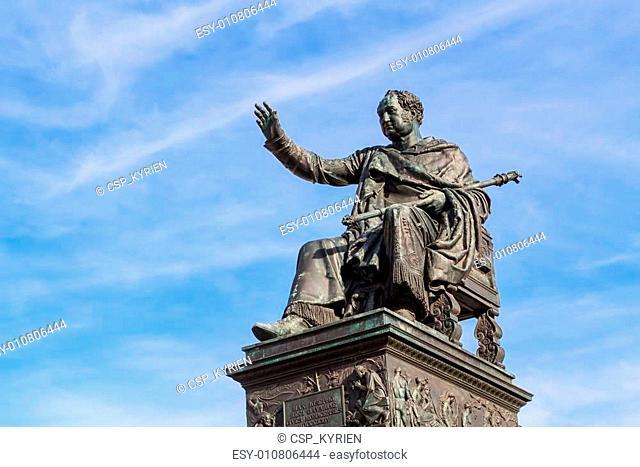 Statue of King Maximilian Joseph of Bavaria