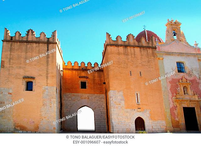 Santa Maria de la Valldigna Simat Monastery Valencia Spain monuments