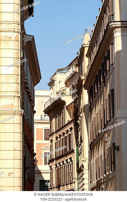 Street, Rome, Lazio, Italy