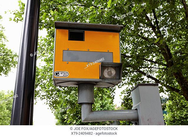 gatso meter speed camera in central London England UK