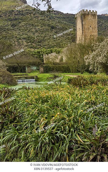 Garden of Ninfa, Lazio, Italy