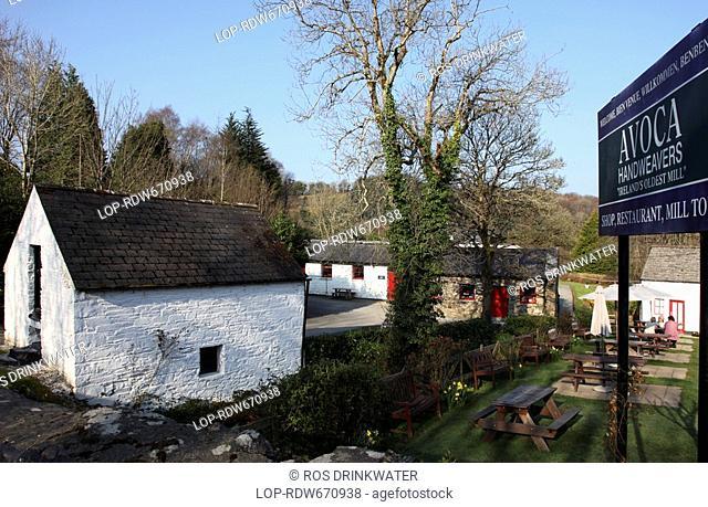 Republic of Ireland, County Wicklow, Kilmacanogue, Avoca Handweavers, Ireland's Oldest Mill, Co. Wicklow