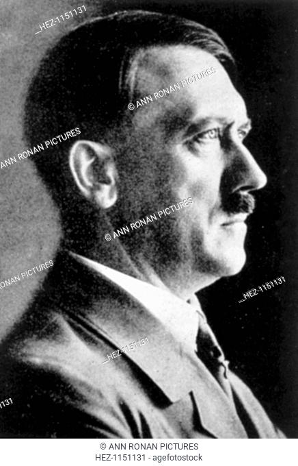 Adolf Hitler (1889-1945), German dictator, c1930s