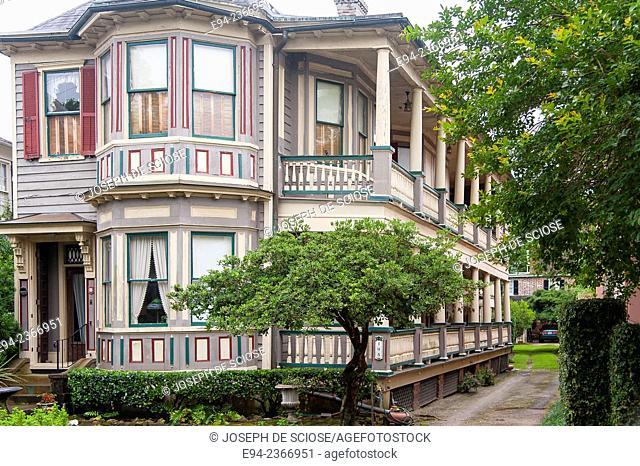 Traditional and Historic home in Charleston, South Carolina, USA
