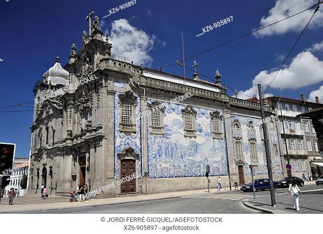 Igreja do Carmo, Igreja dos Carmelitas, Porto, Portugal, Europe