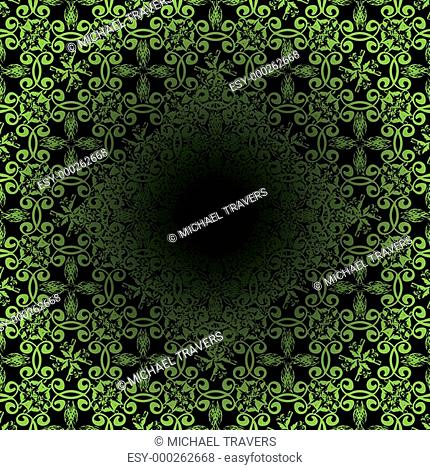 tile green tunnel