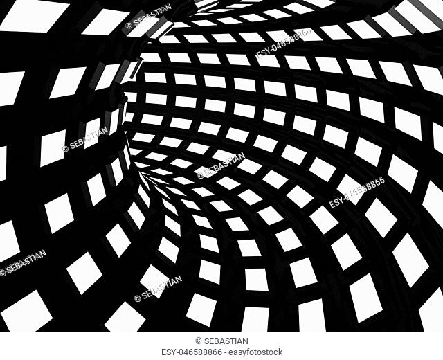 Striped tunne