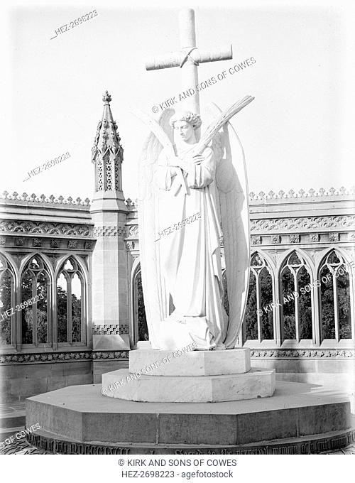 Angel of the Memorial Well, Cawnpore, India, 1902. Creator: Kirk & Sons of Cowes