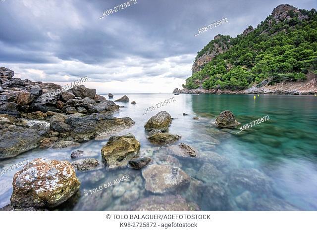 Cala Tuent, Escorca, sierra de Tramuntana, islas baleares, Spain