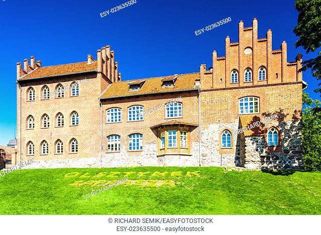 Castle in Olsztynek, Warmian-Masurian Voivodeship, Poland