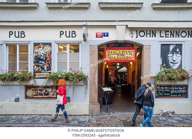 John Lennon Bar in Prague, Czech Republic