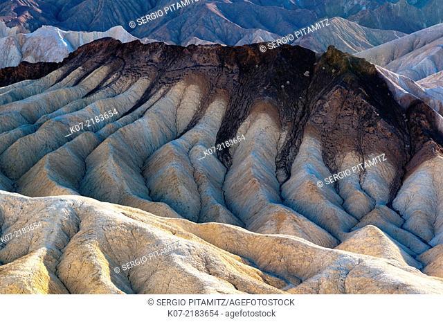 Zabriskie Point, Death Valley NP, California, USA