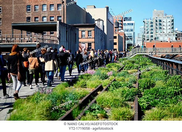 High Line Park, Manhattan, New York City