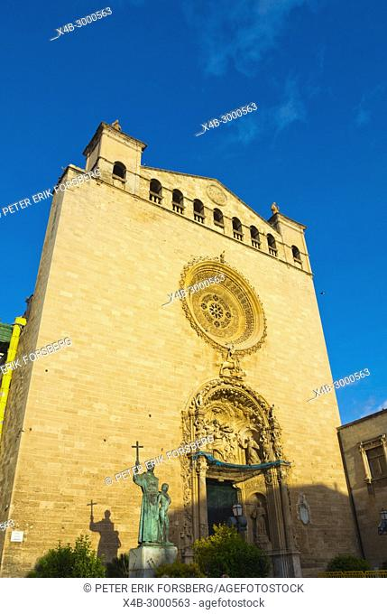 Sant Francesc de Palma, Sant Francesc church, old town, Palma, Mallorca, Balearic islands, Spain