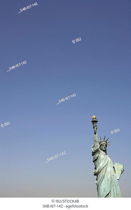 Replica Statue of Liberty in Odaiba, Tokyo, Japan