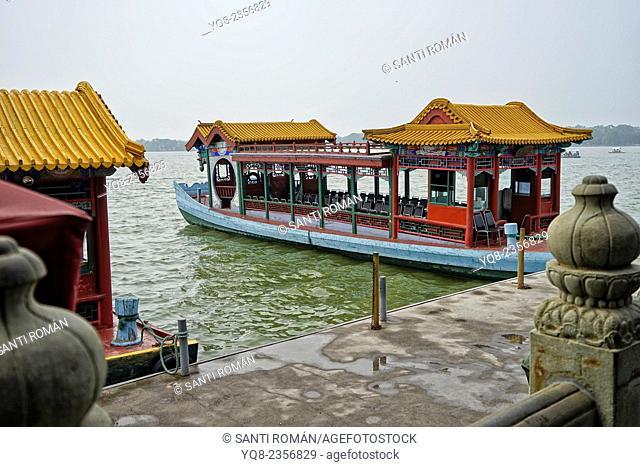 Asia, Beijing, Peking, China, Heritage, Holiday, Kunming, Lake, Landmark, Qing dynasty, Boat