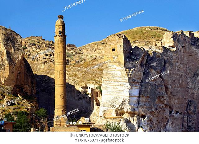 Ayyubid El Rizk Mosque ancinet citadel & Artukid Little Palace of Hasankeyf The Mosque was built in 1409 by the Ayyubid sultan Suleyman and stands on the bank...