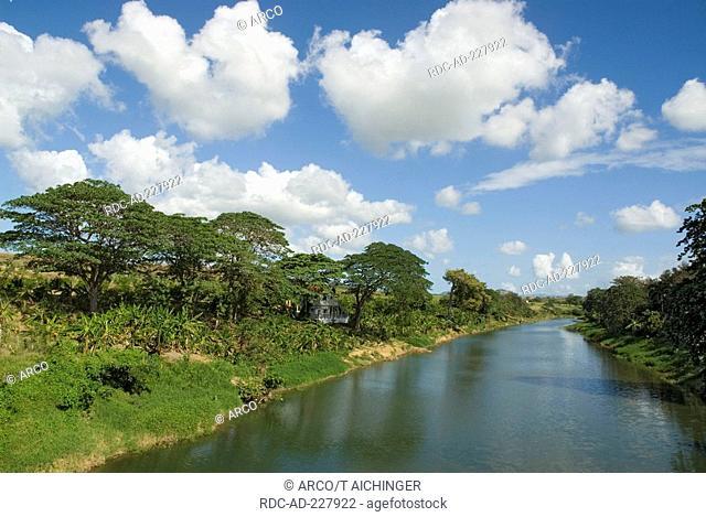 River Rio Chavon near El Seibo, Dominican Republic