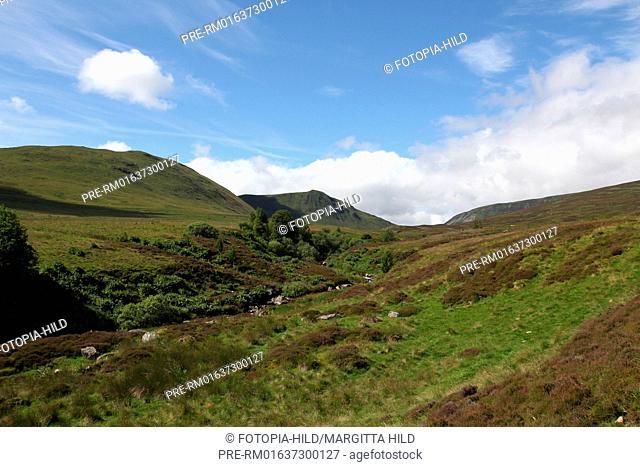Lochan a'Mhuilinn, Perth and Kinross, Highlands, Scotland, United Kingdom / Lochan a'Mhuilinn, Perth and Kinross, Highlands, Schottland, Großbritannien
