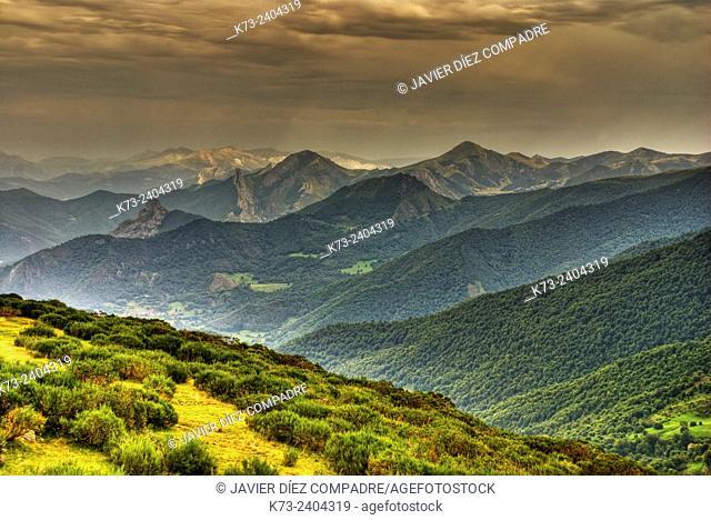 Liebana Valley. Collado de Llesba. Picos de Europa National Park. Cantabria. Spain