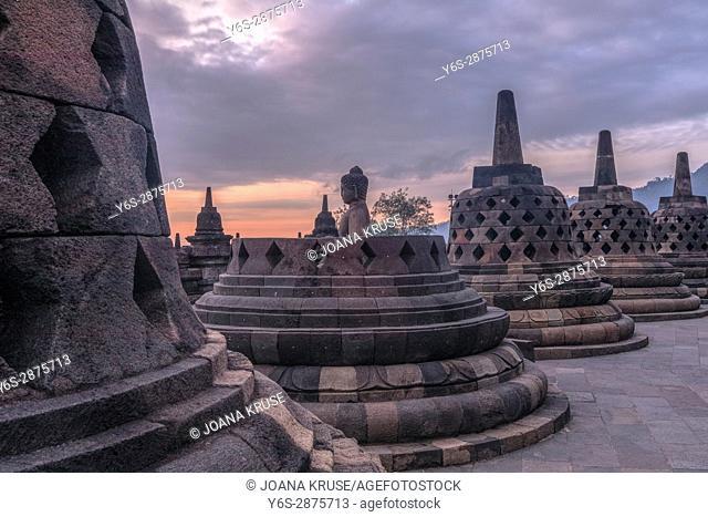 Borobudur Temple, Magelang, Java, Indonesia, Asia