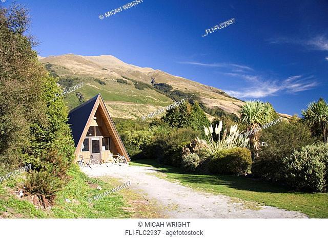 Accommodation at the Makarora Wilderness Park, New Zealand