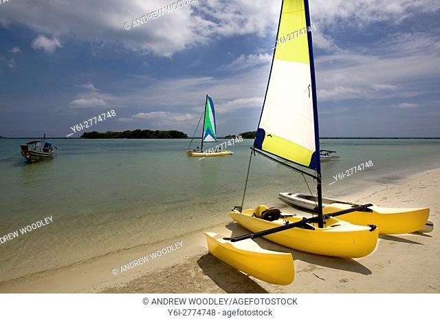 Trimaran Chaweng Beach Ko Samui Thailand