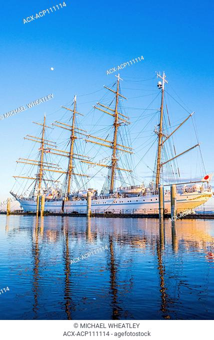 Japanese Tall Ship, Kaiwo Maru, King of the Sea, Ships to Shore Festival, Richmond, British Columbia, Canada