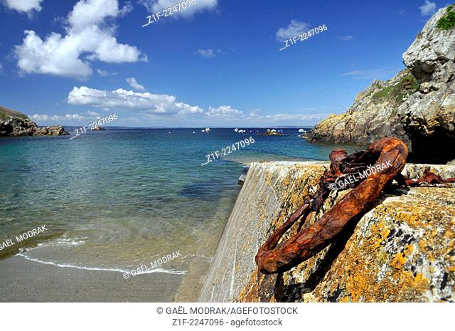 Pors Piron in Brittany, France