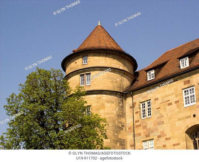Tower of the Altes Schloss, Stuttgart, Germany