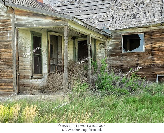 Abandoned house, Nebraska, USA
