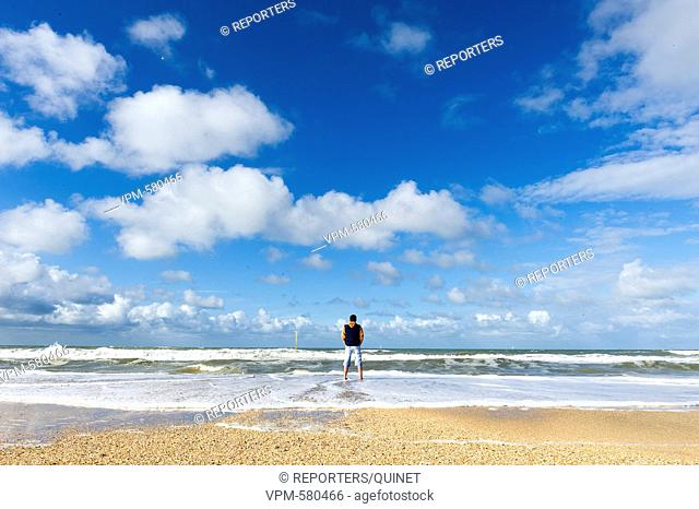 DE Panne - 03 october 2016 La ville cotiere de La Panne Stad aan de kust - De Panne City on the belgian coast - De Panne Credit: JMQuinet/Reporters Reporters /...