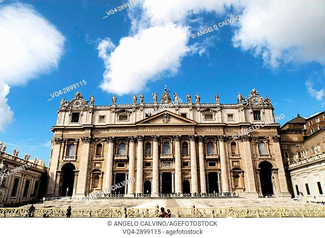 St Peter's Basilica, Vatican City, Rome, Lazio, Italy