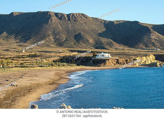 Los Escullos, Parque Natural del Cabo de Gata, Almeria province, Andalusia, Spain