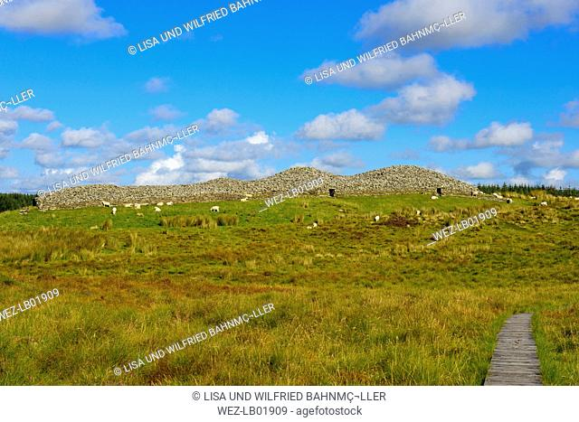 United Kingdom, Scotland, Highland, Lybster, Cairns von Camster, burial chambers