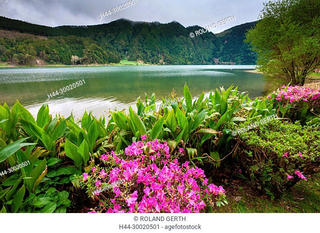Portugal, Azoren, Sao Miguel, Lagoa Verde