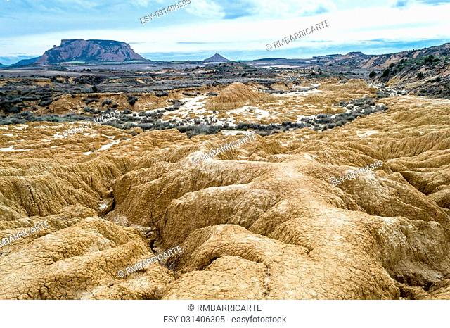 Bardenas reales recently became famous after season 6 of the show Game of Thrones was filmed there