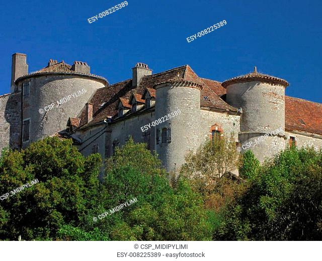 Arcambal, Castle, tower