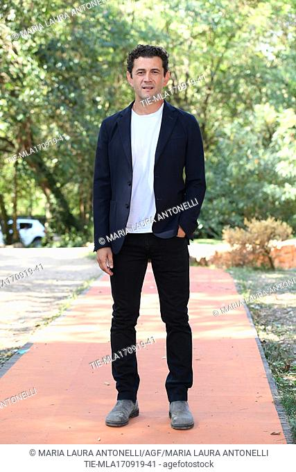 Vinicio Marchioni during the photocall of film ' Drive me home ' Rome, ITALY-17-09-2019