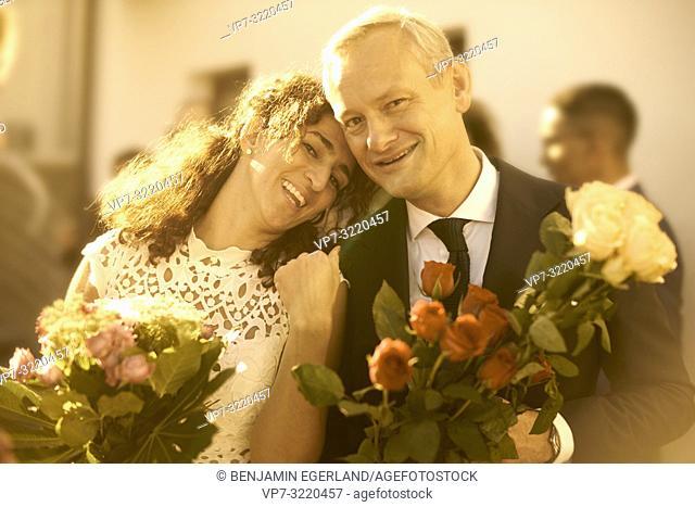 Upper class wedding. Pöcking, Starnberg, Bavaria, Germany