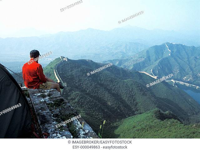 Trekking on the Chinese Wall, China