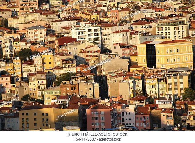 Houses in Istanbul-Galata
