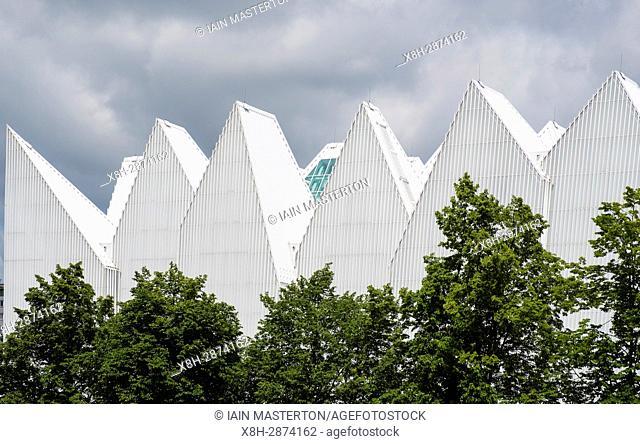 Exterior view of Szczecin Filharmonia concert hall in Szczecin , Poland