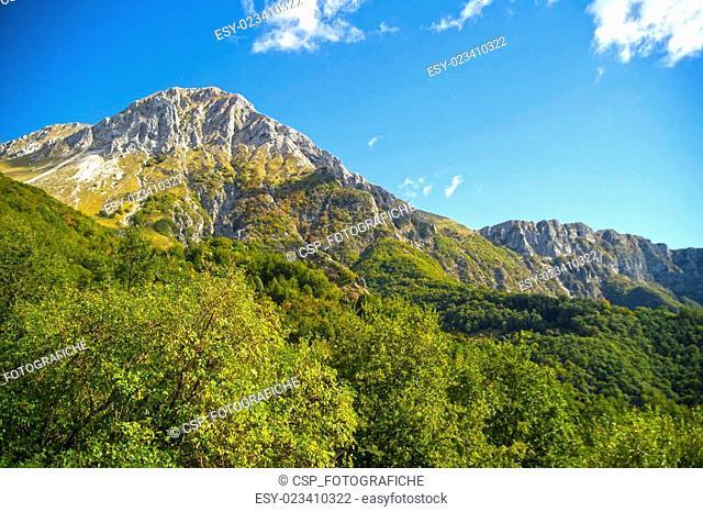 Monte Pania of the Cross