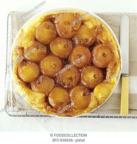 Tarte Tatin Caramelised apple tart, France