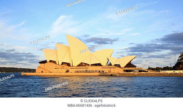 Sydney Opera House at sunset, Australia