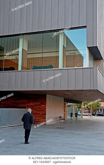 Espai Centric Culture, 2007, arq Manel Brullet, El Prat de Llobregat, Catalonia, Spain
