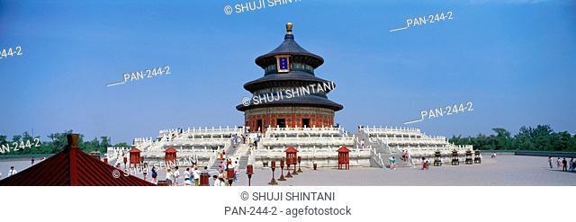 Qinian Hall, Tiantan Park, Beijing, China